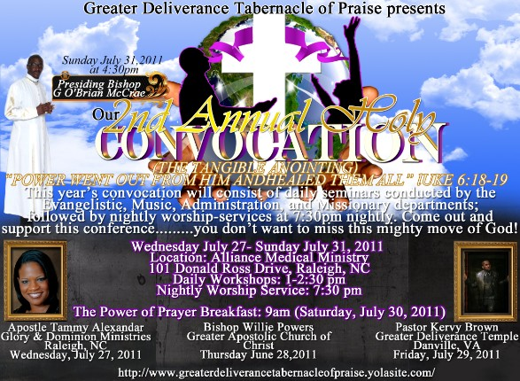 Greater Deliverance Tabernacle Of Praise